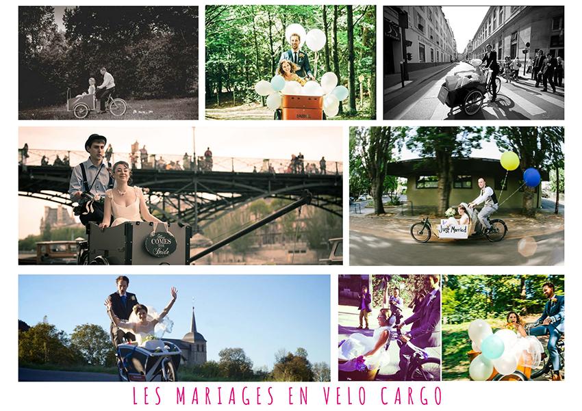 Mariage et cargo bike : l'union du siècle