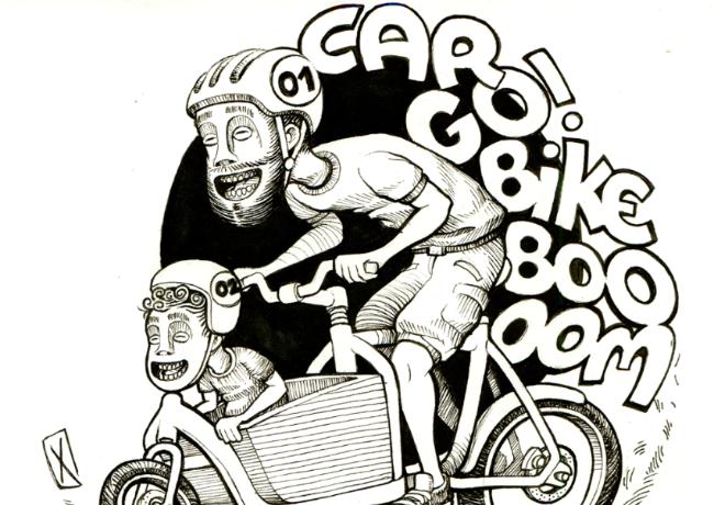 Le boom du cargo bike