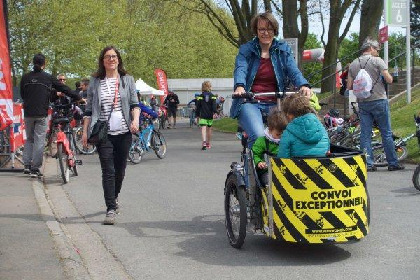 Le vélo cargo se développe à Lille avec l'association Velowomon