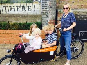 transport 4 enfants a velo