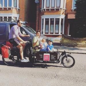 transport famille a velo