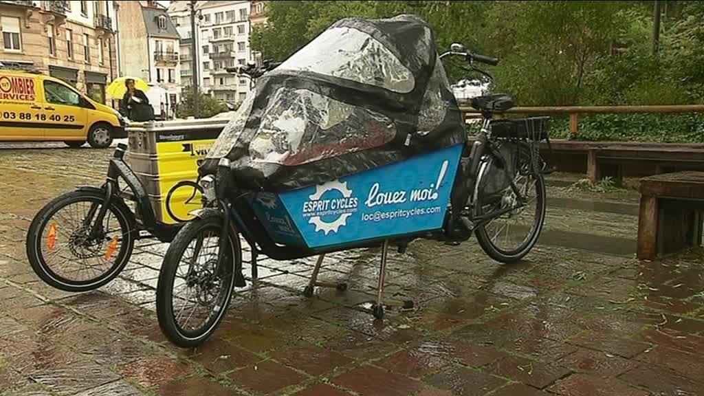 Location de cargobikes à Strasbourg