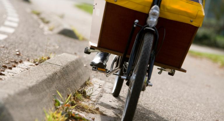 Le vélo cargo à la une à Tours