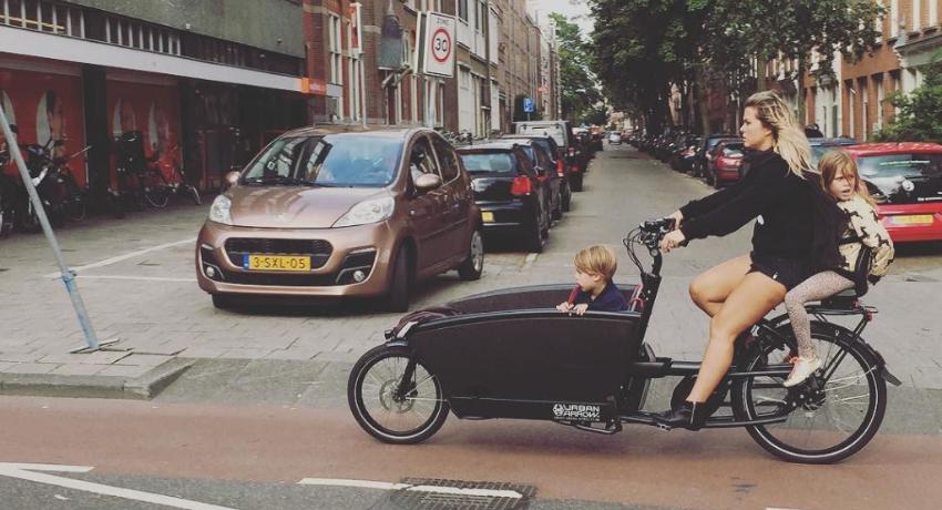 Vélo cargo vs voiture