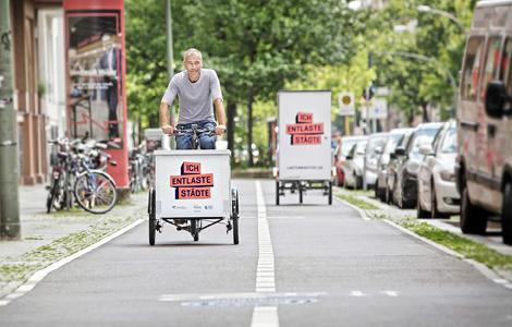 Une subvention de 1000€ pour l'achat d'un cargobike à Berlin