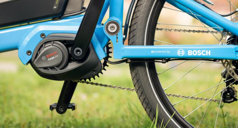 Bosch développe une motorisation pour les vélos cargos !