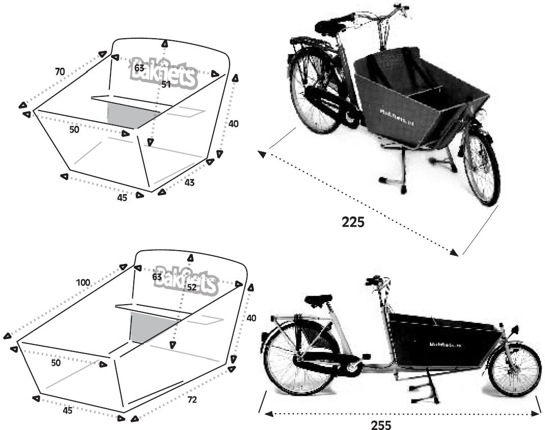 5936e17fd616f Vélo biporteur Bakfiets