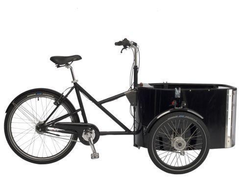 Vélo triporteur Nihola